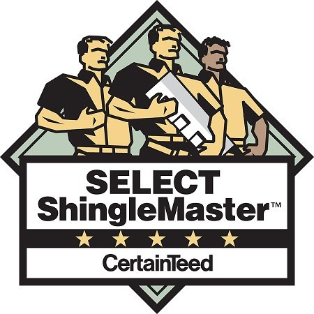 CertainTeed SELECT Shingle Master Certified Contractor